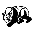 giant panda vector image vector image