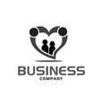 love family care logo designs modern vector image