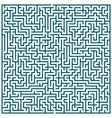Maze pattern vector image vector image