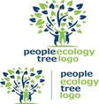 people ecology tree logo 9 vector image vector image