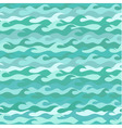 Seamless pattern made of sea waves vector image vector image