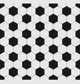 soccer ball seamless texture vector image vector image