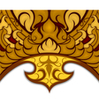 art pattern thai style vector image vector image