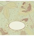 Floral backgrounds vintage vector image vector image