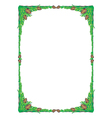 frame tree green vector image vector image