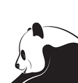 Panda design vector image