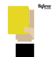 referee desing vector image