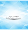 blue abstract background composed of blue vector image vector image