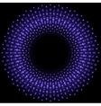 Bright purple glowing beams vector image vector image