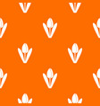 tulip pattern seamless vector image vector image