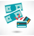 Pay by Credit Card Icon vector image
