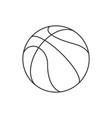 ball line vector image