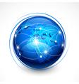 concept internet communication vector image vector image