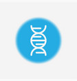 dna icon sign symbol vector image
