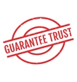 Guarantee Trust rubber stamp vector image vector image