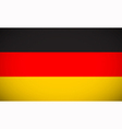 National flag of Germany vector image vector image