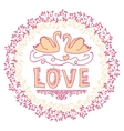 Set of wedding ornaments and decorative elements vector image vector image