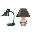 table lamps set vector image vector image