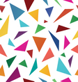 Triangle abstract backgrounds vector image vector image