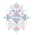 Tribal vintage ethnic background vector image vector image