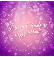 Merry Christmas Blurred Festive Background vector image