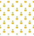 Beekeeper pattern cartoon style vector image vector image