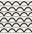 black arch geometric seamless pattern vector image