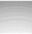 Black Dots on a White Background Retro Style vector image vector image