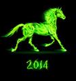 Fair Horse Run 2014 03 vector image vector image