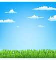 green field background vector image vector image