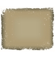 Grunge frame isolated vector image vector image