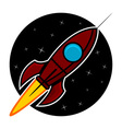 Space rocket vector | Price: 1 Credit (USD $1)