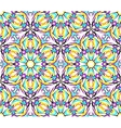 Thin Kaleidoscopic Fractal Pattern vector image vector image