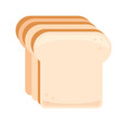 bread simple food icon in trendy style isolated vector image