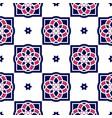 portuguese azulejo tiles seamless patterns vector image vector image