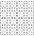 seamless abstract pattern of circles black on a vector image
