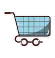 shopping car to website buy icon vector image vector image