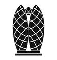 Skyscraper icon simple style vector image vector image