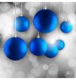 Blue Balls vector image