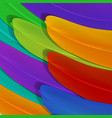 abstract bird feather background vector image vector image