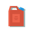 blank plastic canister for motor oil vector image vector image