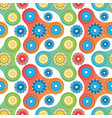 fidget spinner toy seamless pattern vector image vector image