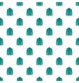 Men green jacket pattern cartoon style vector image vector image