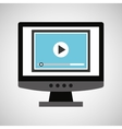 programming coding computer video vector image vector image