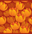 seamless background flowery topic 1 vector image