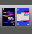 sport design layout template design vector image vector image