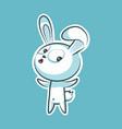 sticker emoji emoticon emotion what happens hey vector image vector image