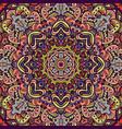 boho mandala ethnic tribal pattern vector image vector image