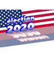 flag russia and inscription meaning election vector image vector image