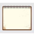 Notebook 001 vector image vector image